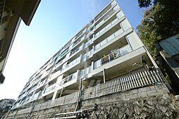 大阪府箕面市箕面8丁目の賃貸マンションの外観
