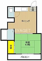 メゾントヨタ[2階]の間取り
