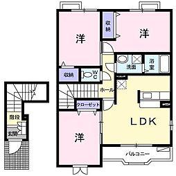 セレーノ戸塚[2階]の間取り