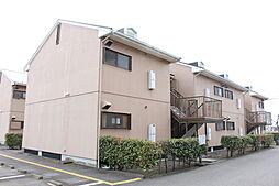 滋賀県近江八幡市田中江町の賃貸アパートの外観
