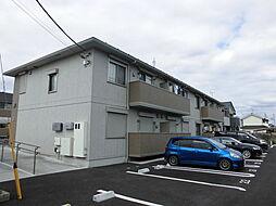 埼玉県入間市大字野田の賃貸アパートの外観