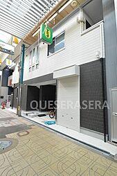 大阪府大阪市阿倍野区王子町3丁目の賃貸アパートの外観