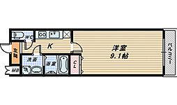 フジパレス南清水2番館[2階]の間取り