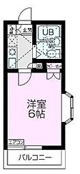 埼玉県志木市本町3丁目の賃貸アパートの間取り