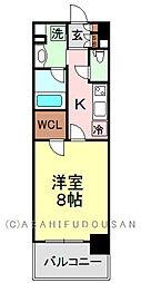 コンフォリア浅草松が谷[10階]の間取り