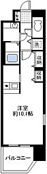愛知県名古屋市中区錦3丁目の賃貸マンションの間取り
