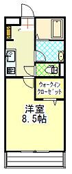 yukoto[B205号室]の間取り