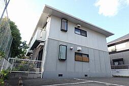 大阪府箕面市桜1丁目の賃貸アパートの外観