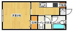ロックハウスI[203号室]の間取り