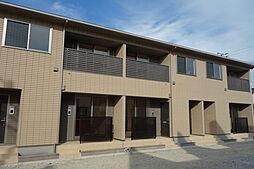 新潟県新発田市舟入町3丁目の賃貸アパートの外観