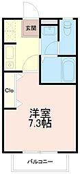 ピュアハイムイトウ(ピュアハイムITO)[2階]の間取り