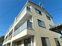東京都多摩市関戸5丁目の賃貸マンションの外観