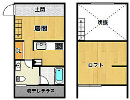 ORTUS AKAMATSU[103号室]の間取り