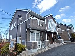 栃木県小山市大字小山の賃貸アパートの外観