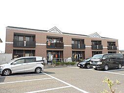 埼玉県鶴ヶ島市柳戸町の賃貸アパートの外観
