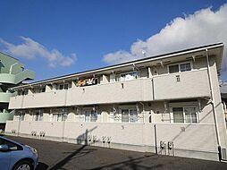 愛知県豊田市竜神町飛越の賃貸アパートの外観