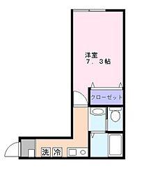 ラ・ヴィータ・フェリーチェ新鎌ヶ谷[1階]の間取り