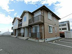 栃木県下野市上大領の賃貸アパートの外観
