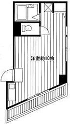 東京都中野区白鷺1丁目の賃貸マンションの間取り
