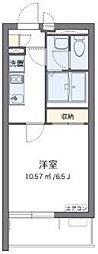 JR京浜東北・根岸線 さいたま新都心駅 徒歩12分の賃貸アパート 1階1Kの間取り