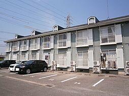 愛知県岡崎市六名本町の賃貸アパートの外観