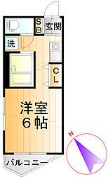 ダイヤモンドレジデンス板橋本町第2[4階]の間取り