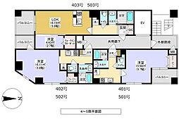 メゾン・ド・ソレイユ 3階ワンルームの間取り