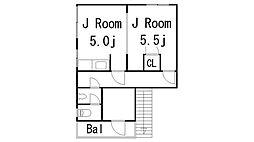 第一アパート[10号室]の間取り