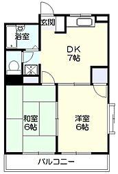 メゾン141[3階]の間取り