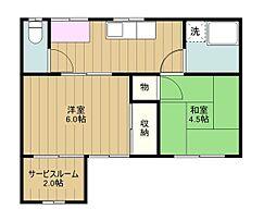 [一戸建] 東京都多摩市関戸5丁目 の賃貸【/】の間取り