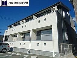 愛知県豊橋市大脇町字大脇の賃貸アパートの外観