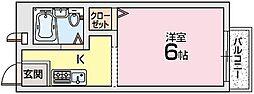 メモワール佐倉[2階]の間取り