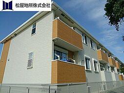 愛知県田原市加治町南恩中の賃貸アパートの外観
