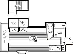 マレード・モンマリ[105号室]の間取り