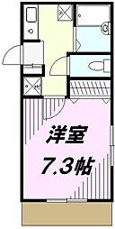 パルファインキューブ[1階]の間取り