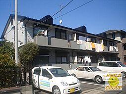 千葉県市川市大町の賃貸アパートの外観