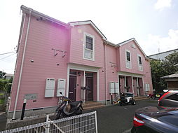 神奈川県海老名市本郷の賃貸アパートの外観
