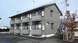 茨城県結城市新福寺3丁目の賃貸アパートの外観