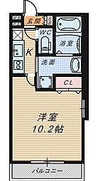 フジパレス湊2番館[3階]の間取り