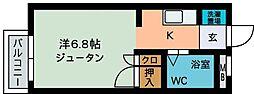 コーポ・シャガール2[102号室]の間取り