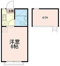 多摩ロイヤルハイツエー棟(多摩ロイヤルハイツA棟)[1階]の間取り