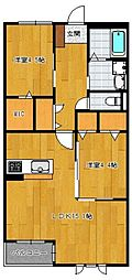 仮)野芥4丁目新築オートロック付アパート[203号室]の間取り