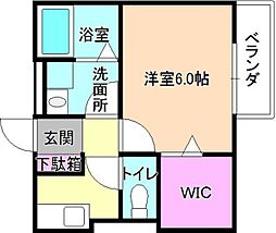 Soleil香里園[2階]の間取り