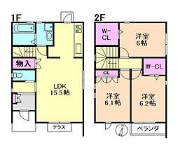 [一戸建] 大阪府豊中市北桜塚3丁目 の賃貸【/】の間取り