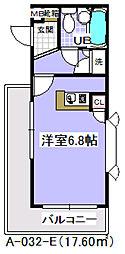 ローズガーデンA32番館[112号室]の間取り