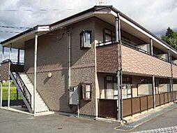 岐阜県中津川市中津川の賃貸アパートの外観