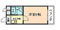 グレイスフル福島[3階]の間取り