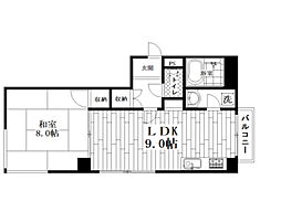 東京都中野区若宮1丁目の賃貸マンションの間取り