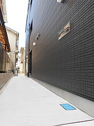 モダンアパートメント平野本町[1階]の外観