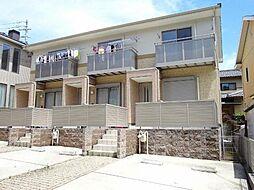 愛知県日進市岩崎町六坊の賃貸アパートの外観